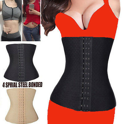 slimming waist training sport cincher body shaper under. Black Bedroom Furniture Sets. Home Design Ideas