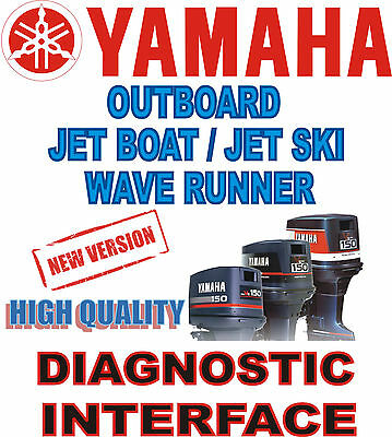 High Quality New YAMAHA Outboard Jet Boat Wave Runner diagnostic cable interface