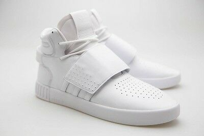 $100 Adidas Men Tubular Invader Strap white BW0872 sz 12 13