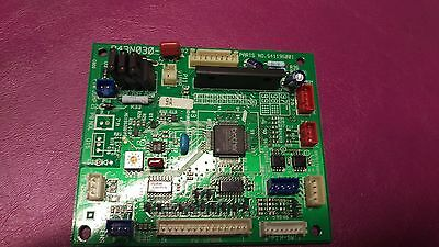 Brother 6 or 4 head Embroidery Machine Head Card Board S41195001