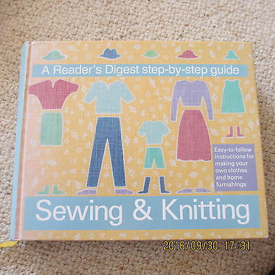 Reader's Digest step-by-step guide to Sewing & Knitting
