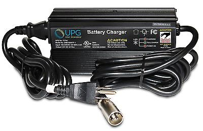 Pride 24 Volt 5.0 Amp XLR ELECHG1025 Battery Charger with Charging Cord (UPG)