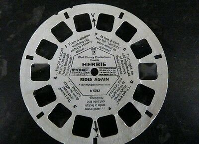 RETRO 1974 - View-Master  Reel ONLY-  HERBIE RIDES AGAIN B 5782 - #2