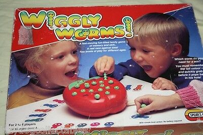 Wiggle Worms Spears Game Retro Children's Game