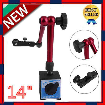 "14"" Magnetic Base Holder for Digital Level Dial Test Indicator Tool With Stand"
