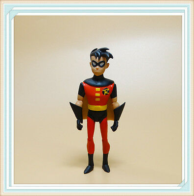 "DC Collectibles Batman Animated Series  ROBIN action Figure old 5"" ND3"
