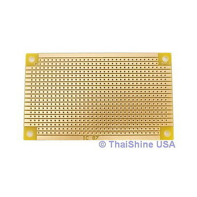 3 x Small StripBoard 94x53mm (Copper) Prototyping Board USA SELLER Free Shipping