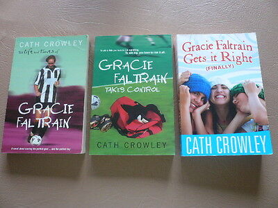 Cath Crowley The Life & Times of Gracie Faltrain, Takes Control, Gets It Right