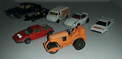 CORGI Juniors & Toys 7 die-cast toys cars and trucks all Made in Gt Britain