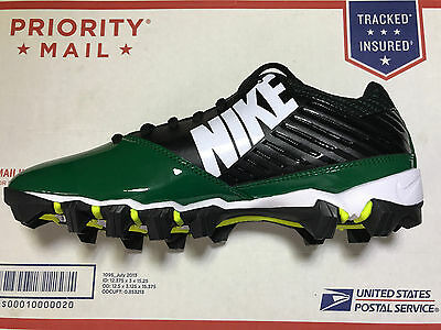 799dc6f35 Nike Vapor Shark TD Men s Molded Rubber Football Cleats Style 643162-160