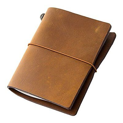 Midori Traveler's Notebook - Starter Kit, Camel Passport Size