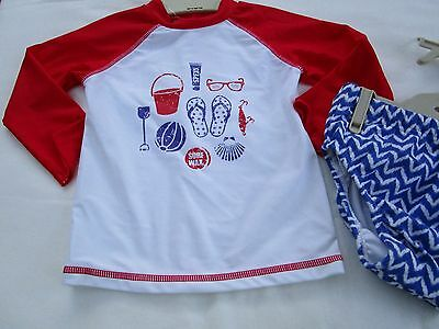 Baby boys Target swim rash vest set with nappy Size   0