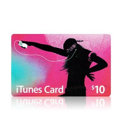 $10 Apple US iTunes Card Gift Card 100% Fast certificate Apple USA USD iTune