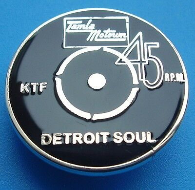 Northern Soul Badge - Tamla Motown - Detroit Soul