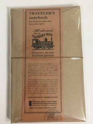 Traveler's Notebook Station Edition Tokyo Limited Regular Leather Cover Sale F/S