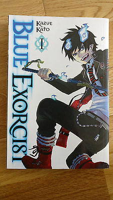 Blue Exorcist Manga vol 1-7 NEW English