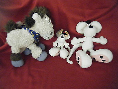 3 Peluches  Diddle  Diddlina  Galupy   Officiel