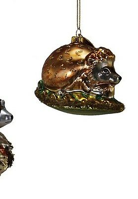 katherine's collection woodland animal ornament 22 524736 glass hedgehog