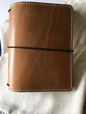 Chic Sparrow Mr. Darcy Pocket Deluxe Leather Notebook Cover