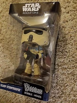 Funko Wacky Wobblers Star Wars Rogue One Scarif Storm Trooper NOT MINT figure