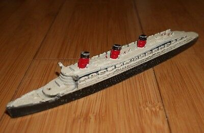 Dinky Toys #52 Cunard White Star 534 Rare Early * No Queen Mary Stamp *