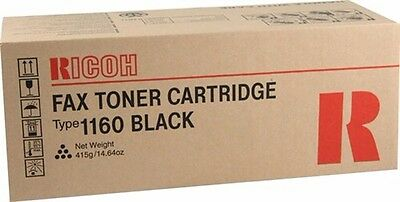 NEW Genuine RICOH TYPE 1160 FAX TONER H192-01 CARTRIDGE TONER EDP 430347