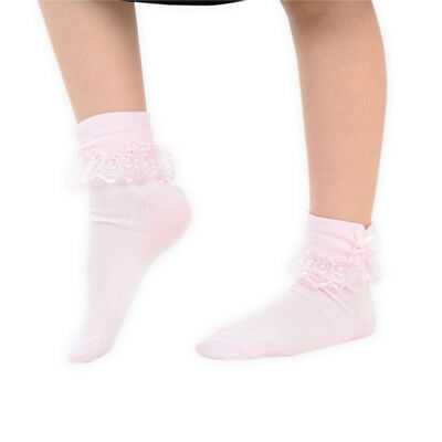 Single and Assorted 3 Pairs - Girls & Baby Chic Wedding Function Party Socks
