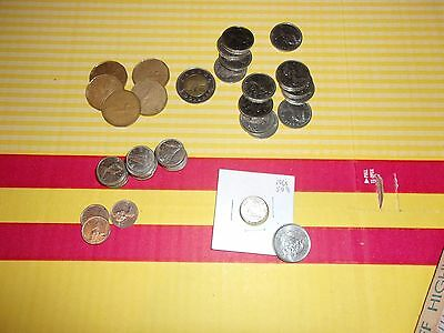 Canada Coins Mixed Lot $13.90 Face Value