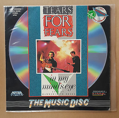 TEARS FOR FEARS - IN MY MIND'S EYE 1986 NTSC U.S. PRINT Hammersmith Odeon 1983