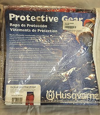 New! Husqvarna Protective Gear Pro Forest Apron Chaps 5313095-66 / 531309566