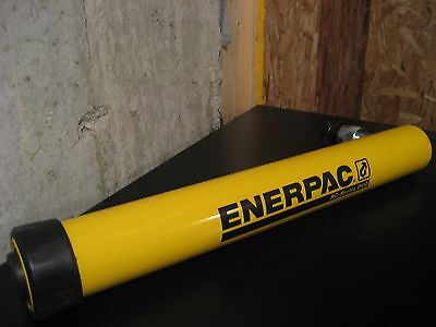 "New Enerpac Rc-1014 Duo Series Hyd. Cyl. 10 Ton Capacity 14 "" Stroke"