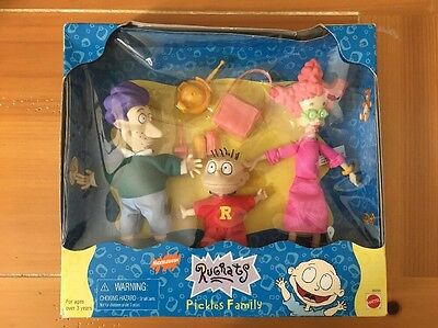 RUGRATS Pickles Family Gift Set 1997 Mattel FACTORY SEALED BOX  Boys  Girls