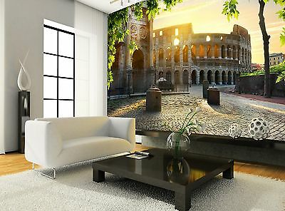 Colosseum and Arch  Wall Mural Photo Wallpaper GIANT WALL DECOR Paper Poster