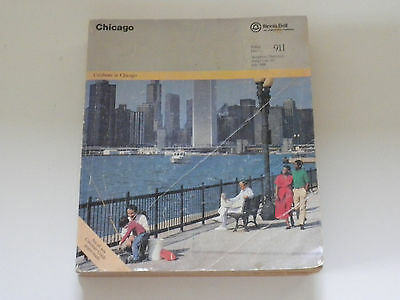 Vintage 1986 Chicago Telephone Directory Illinois Bell