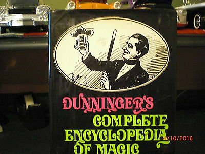 Dunninger's complete encyclopedia of magic book