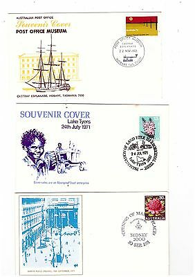 Australia 1971/72 Group of Special Covers   ( 3 covers )