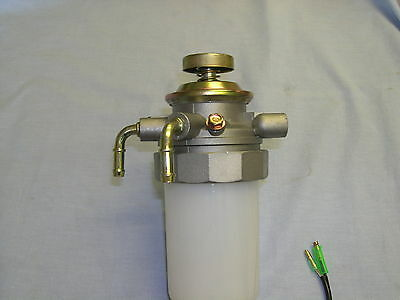 HOLDEN  TF R9  RODEO 2.8 DIESEL NEW FUEL PRIMER PUMP AND WATER TRAP 1998 to 2002