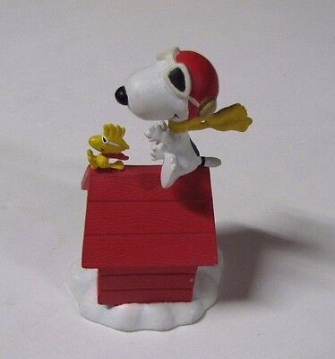 1992 Danbury Mint Peanuts Figurine - Snoopy - The Flying Ace