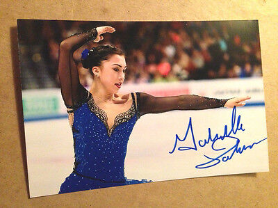Gabrielle Daleman SIGNED 4x6 photo Figure Skating CANADIAN NATIONAL CHAMPION #5
