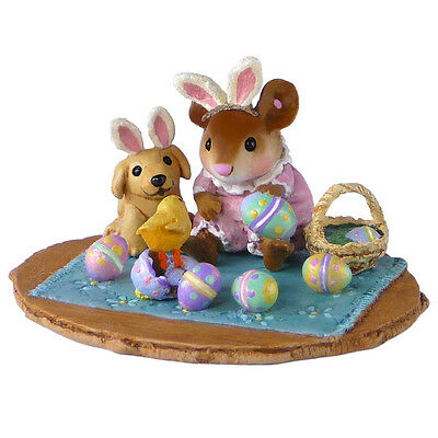PEEP, PEEP...SURPRISE! by Wee Forest Folk, WFF# M-353b, Easter Mouse LTD 2015