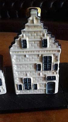 One klm delft blue house 82 bols empty