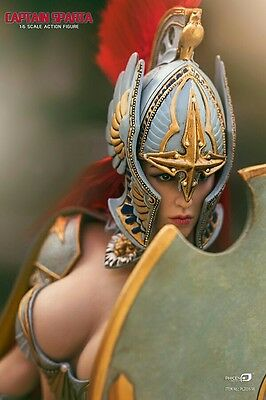 Captain Sparta 1/6 Scale Female Figure by Phicen ACTION FIGURE NEW