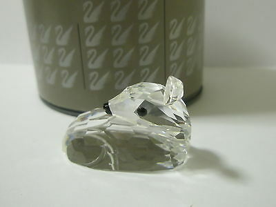 Swarovski Silver Crystal Deer Fawn With The Box