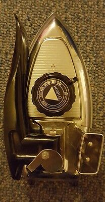 Trident 931 travel iron. Vintage used item.