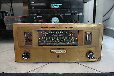 "Vintage , The Fisher 90R "" Anniversary ""  AM / FM Tube  Tuner ,"