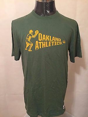 MLB Oakland Athletics LGE Cooperstown Collection Washed Pennant Tee by NIKE