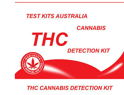 Home potency test  THC test kit Cannabis Marijuana 3 tests