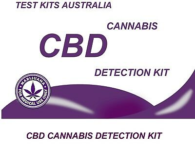 MARIJUANA CANNABIS  CBD potency Testing Kit 3 test