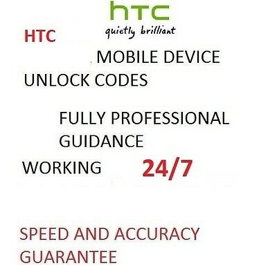 Unlock Code Sim Network For HTC One M9 A9 M8 HTC 10 Tesco o2 Vodafone EE Others