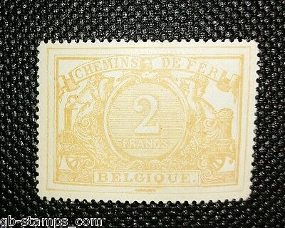 BELGIUM-1882 NUMBERS Railway Parcel Stamp.2Francs.Mint lightly Hinged.FREE POST